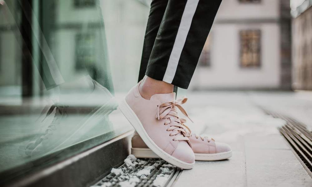 size 40 a07f2 dcf28 adidas - Stan Smith Nuud W (rosa / weiß) - CQ2898 | Moda in ...