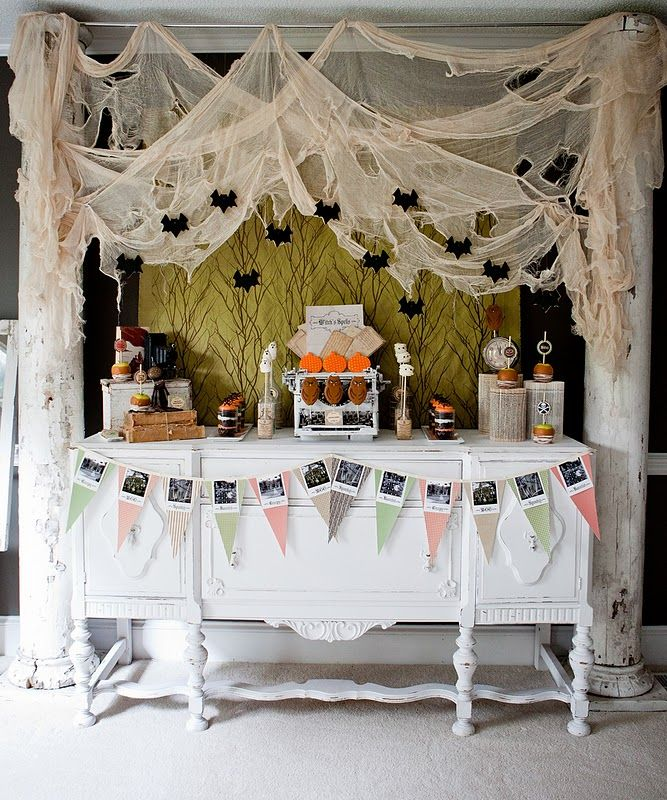 halloween Party Ideas brujis Pinterest Gasa Halloween y Fondos