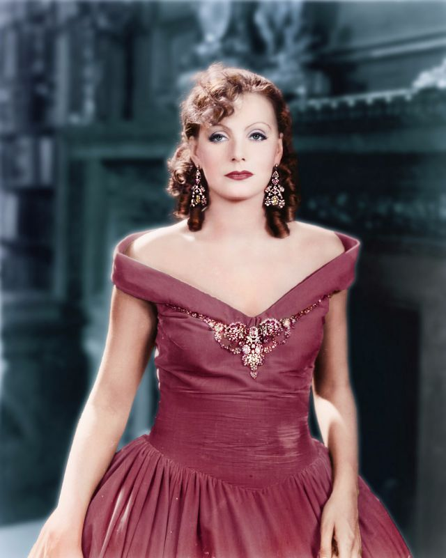 These colorized pictures are glamor portraits of Hollywood American ...
