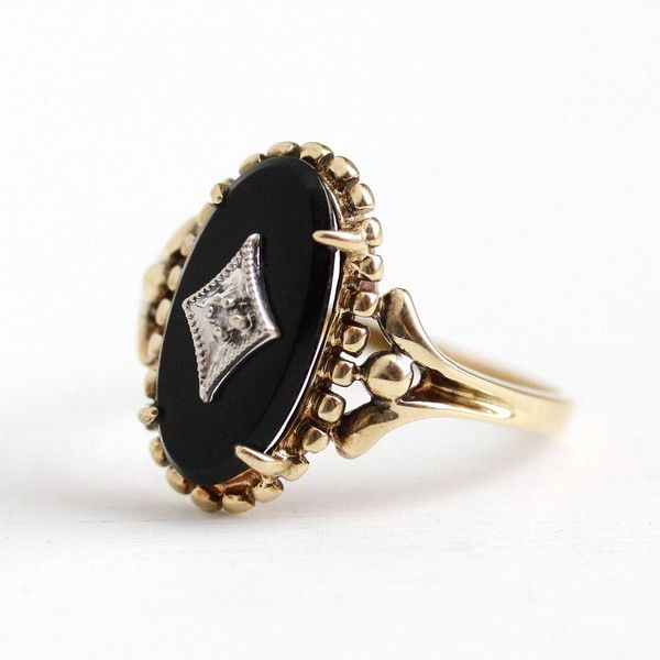 onix gold black rings rustic onyx rose large collections engagement thumb solitaire wedding skinny ideas tag band ring