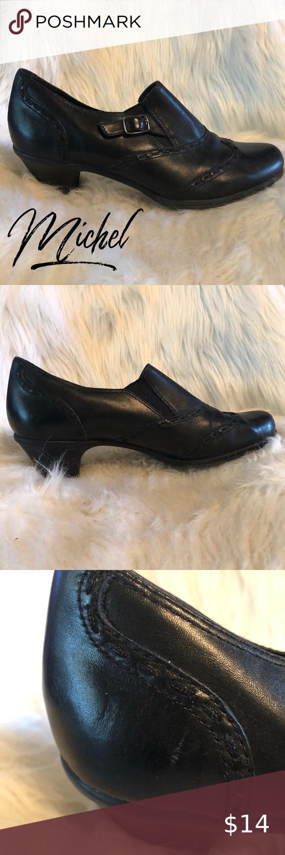 Michel M 10 Comfortable Black Dress Shoes Comfortable Black Dress Shoes Black Dress Shoes Dress Shoes [ 1740 x 580 Pixel ]