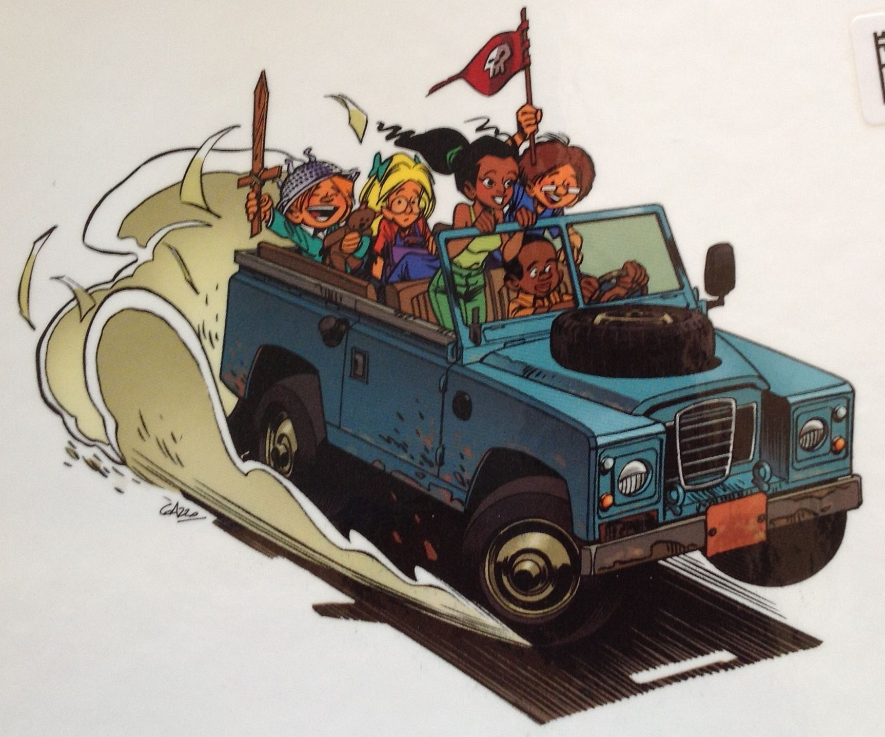 Rover Cartoon Landrover Pinterest Land Rover Defender Land
