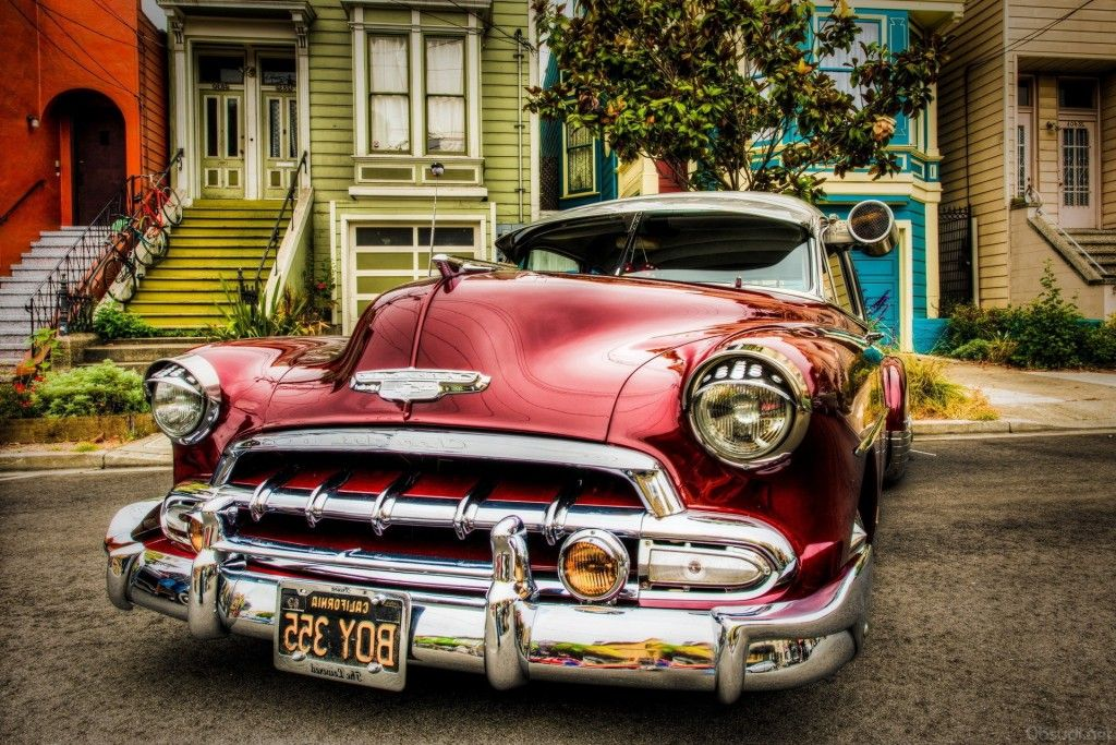 Старые американские машины и Мускул кары фото (с ...