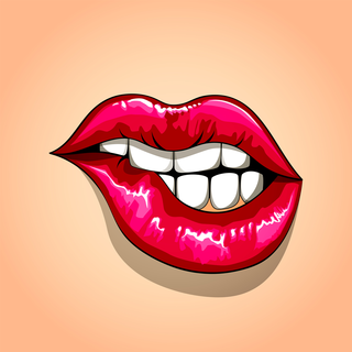 Flirty Emojis Emoticons Keyboard For Imessage Whatsapp Sms Facebook Messenger Texting Flirty Emojis Pop Art Lips Lip Wallpaper