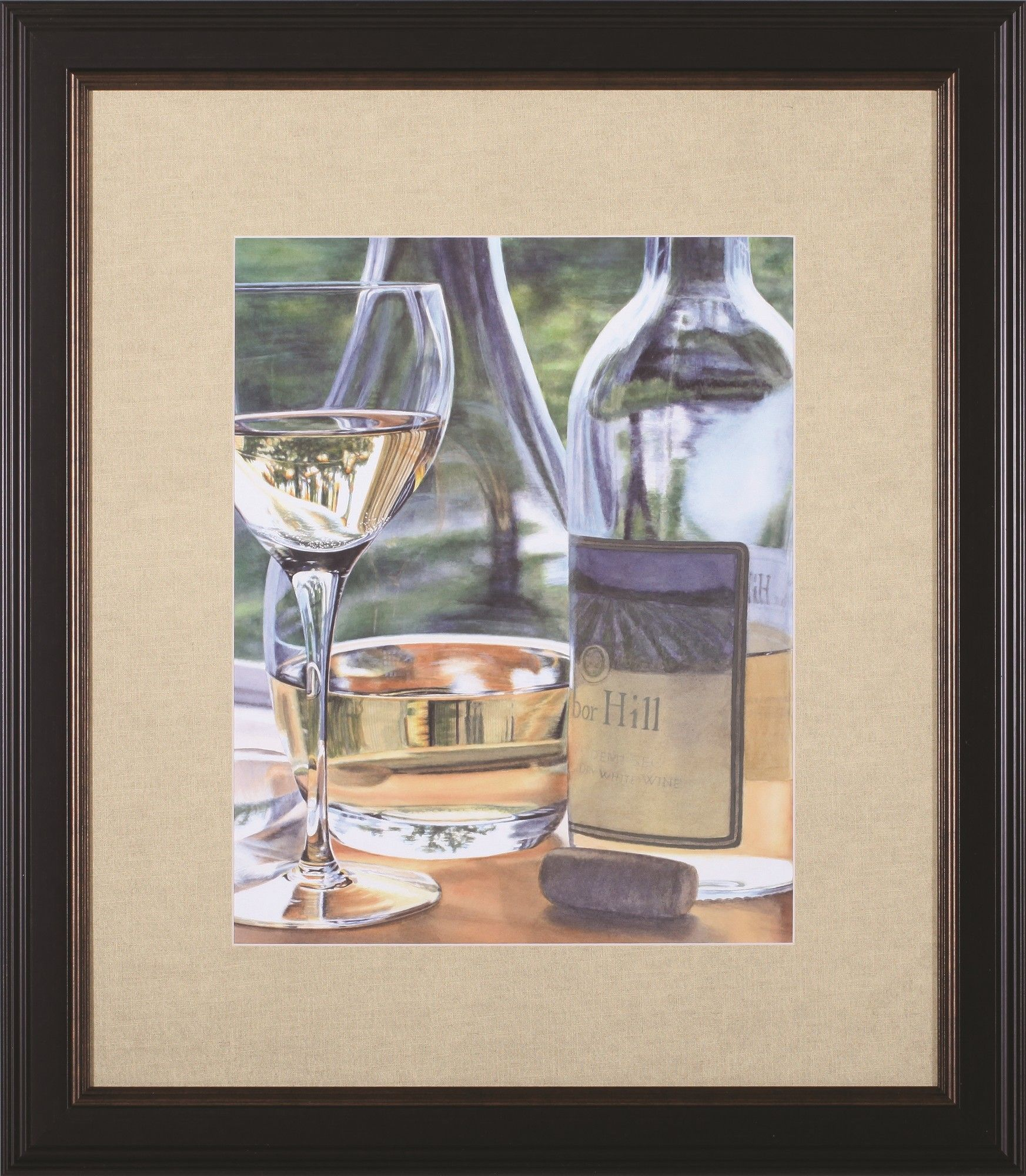 Vin blanc by cindy agan framed photographic print products