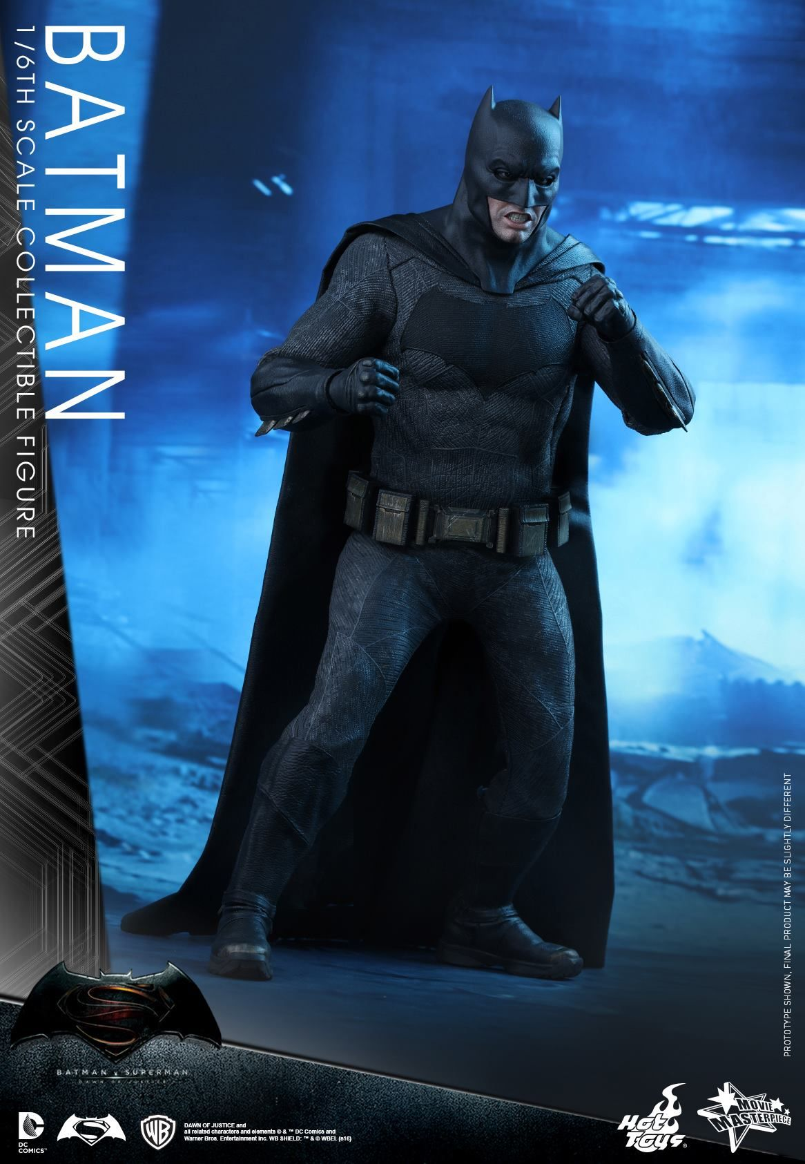 New BATMAN V SUPERMAN Hot Toys Showcase Titular Characters And New - Brand new batmobile revealed awesome