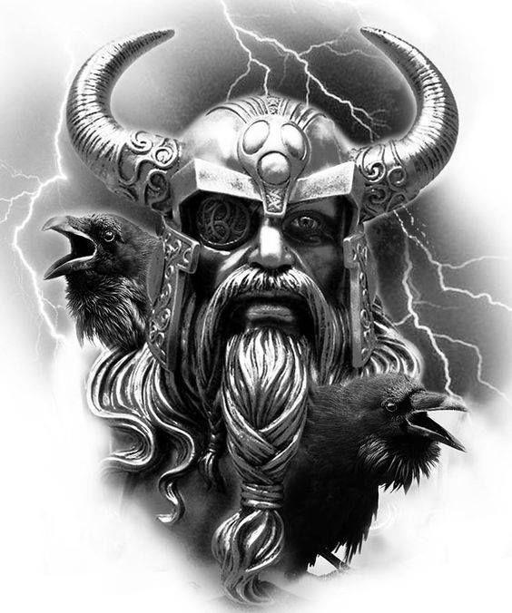 Viking sleeve | Mythology tattoos, Viking warrior tattoos ...
