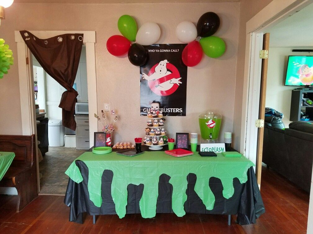 Ghostbusters 5th party geburtstag pinterest for Geburtstagsfeier deko