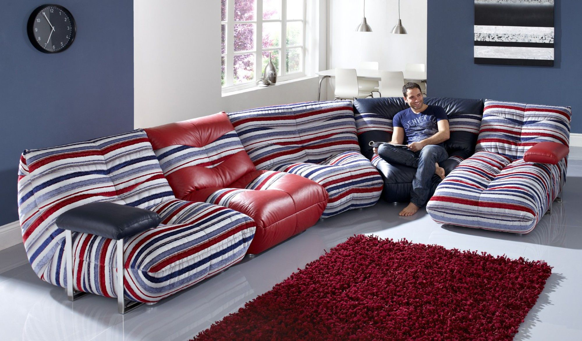 Admirable Leather Sofas Wave Csl Sofas Co Uk For The Home Creativecarmelina Interior Chair Design Creativecarmelinacom