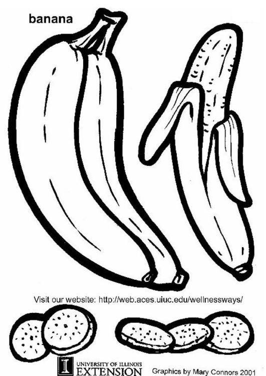 Malvorlage Banane Ausmalbild 5783 Malvorlagen Vorlagen Ausmalbild
