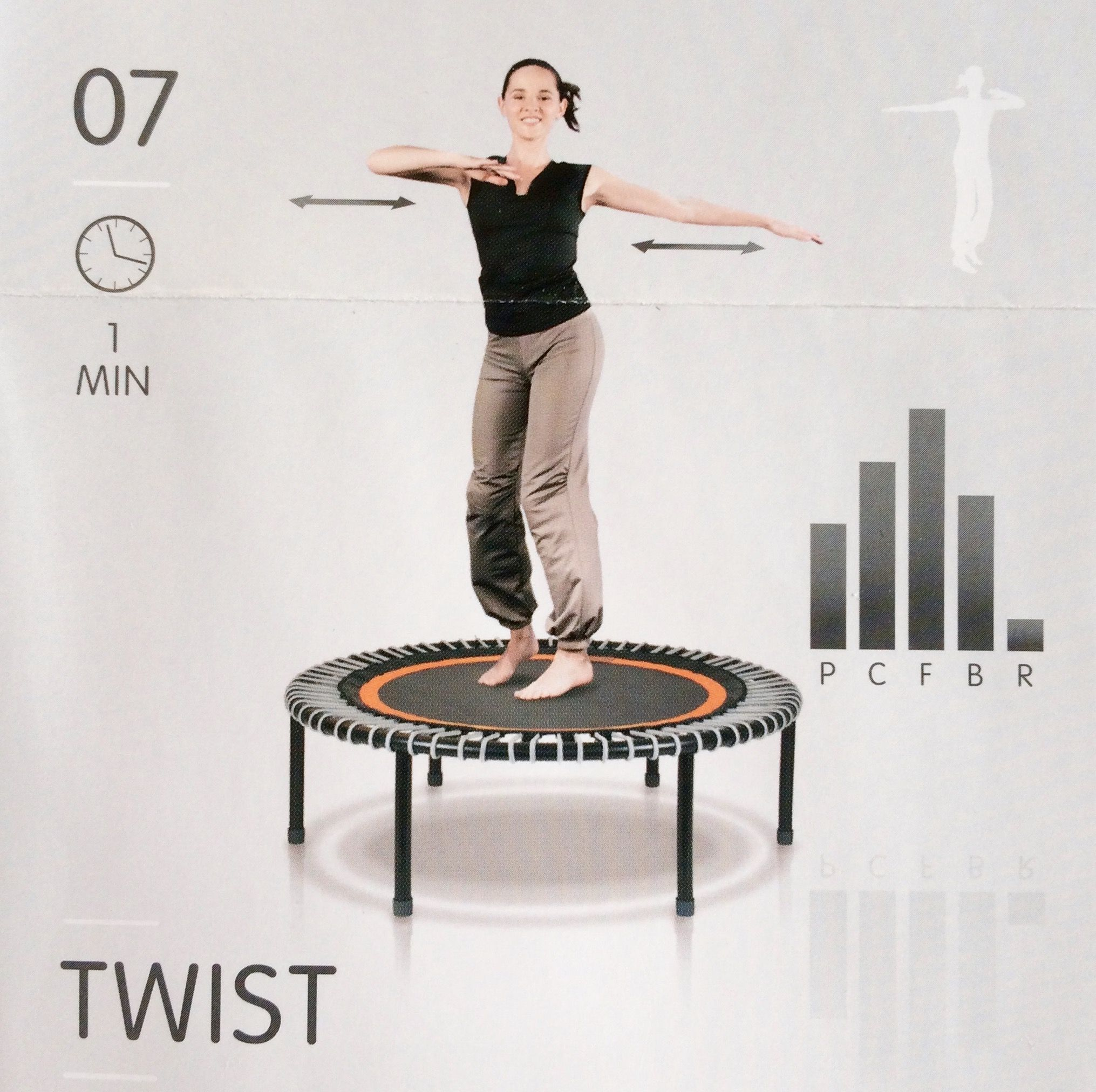 Try This Exercise For The Weekend: The TWIST 1) With Your