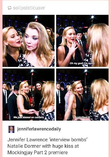 J Law and her interview bombs