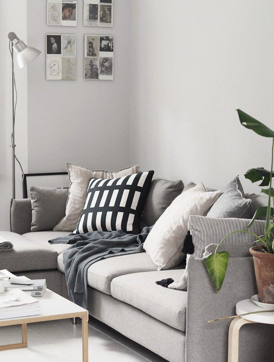 Our new Vento grey corner sofa from Made.com | Grey corner sofa ...