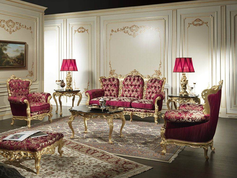 Living Room Design Ideas Baroque Living Room Classic Furniture