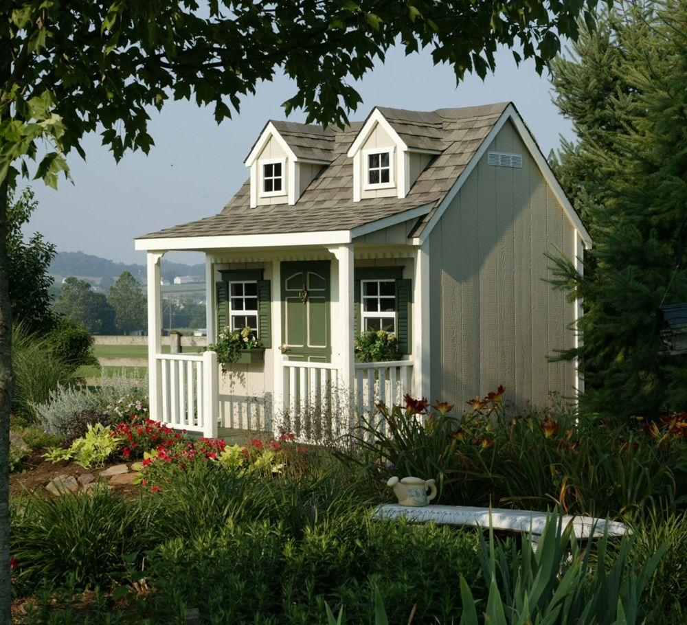 5 Head Turning Garden Shed Designs Small Cottage House Plans Small Cottage Homes Cottage House Plans