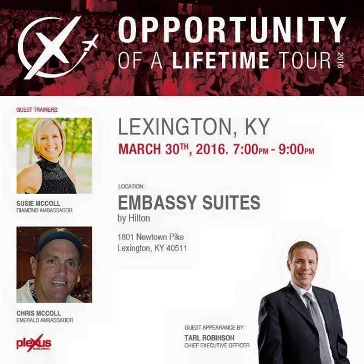 Plexus Slim LEXINGTON! Are you ready for tonight?   Not only will our CEO be in town to meet... | Plexus  LEXINGTON! Are you ready for tonight?   Not only will our CEO be in town to meet you, but the McColls will be there to present the Plexus prod... http://plexusblog.com/lexington-are-you-ready-for-tonight-not-only-will-our-ceo-be-in-town-to-meet-plexus/
