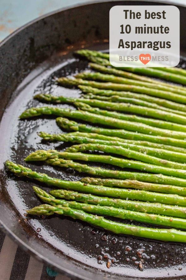 How To Cook Asparagus On The Stovetop