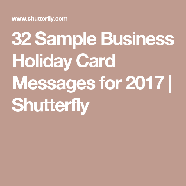 32 sample business holiday card messages for 2017 business holiday 32 sample business holiday card messages for 2017 reheart Choice Image