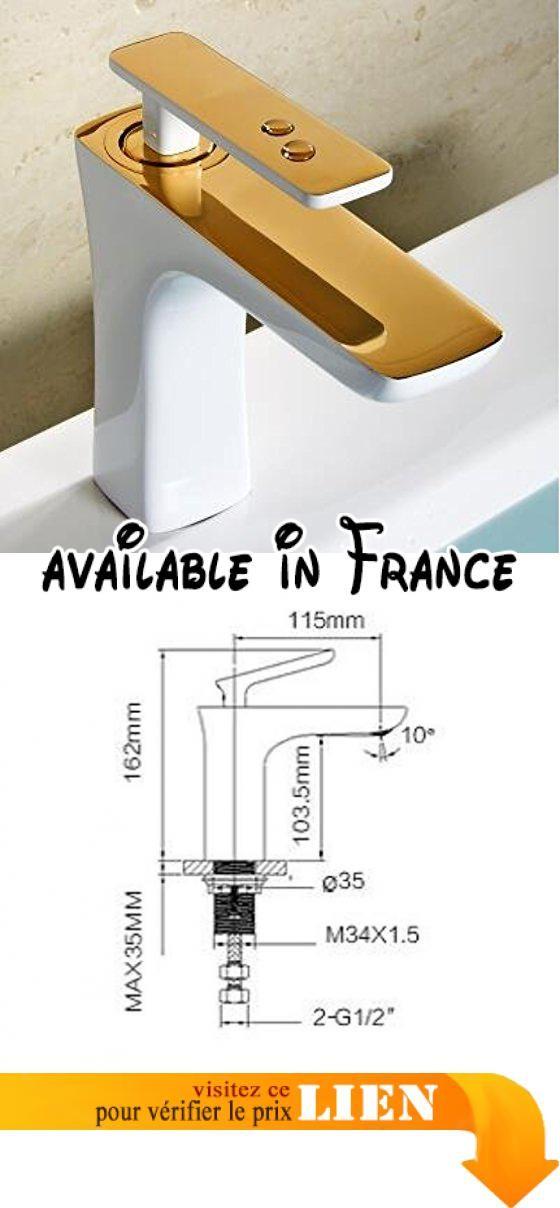 B077WGXV3Q  Otomoll ÂRobinet De Lavabo Salle De Bains De Luxe En - volume salle de bains