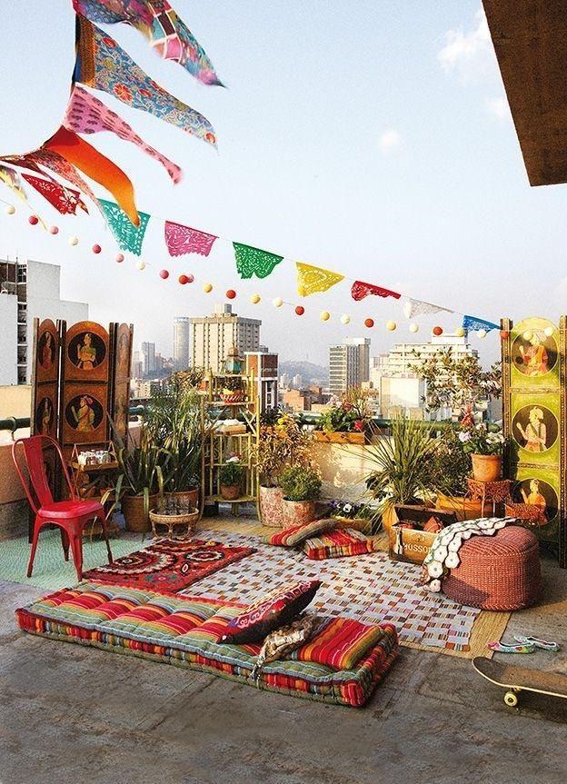 Ideas Decorativas Para La Terraza Y El Balcon Fiesta En El Jardin Decoracion De Unas Fiesta En La Azotea