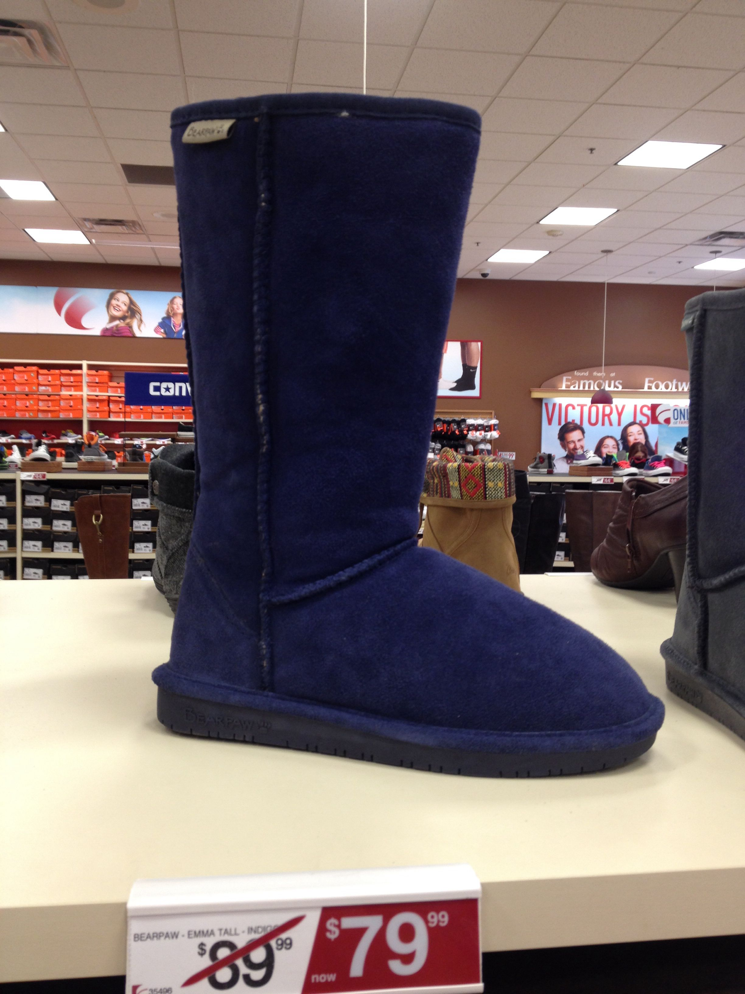 I want these blue bear paw boots for winter. Perfect ...