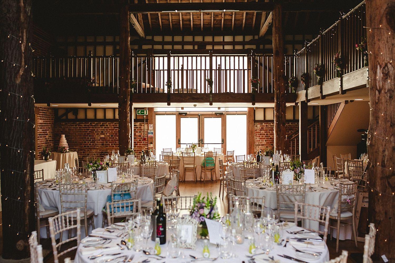 barn wedding venue london%0A Gaynes Park Wedding Barn Reception