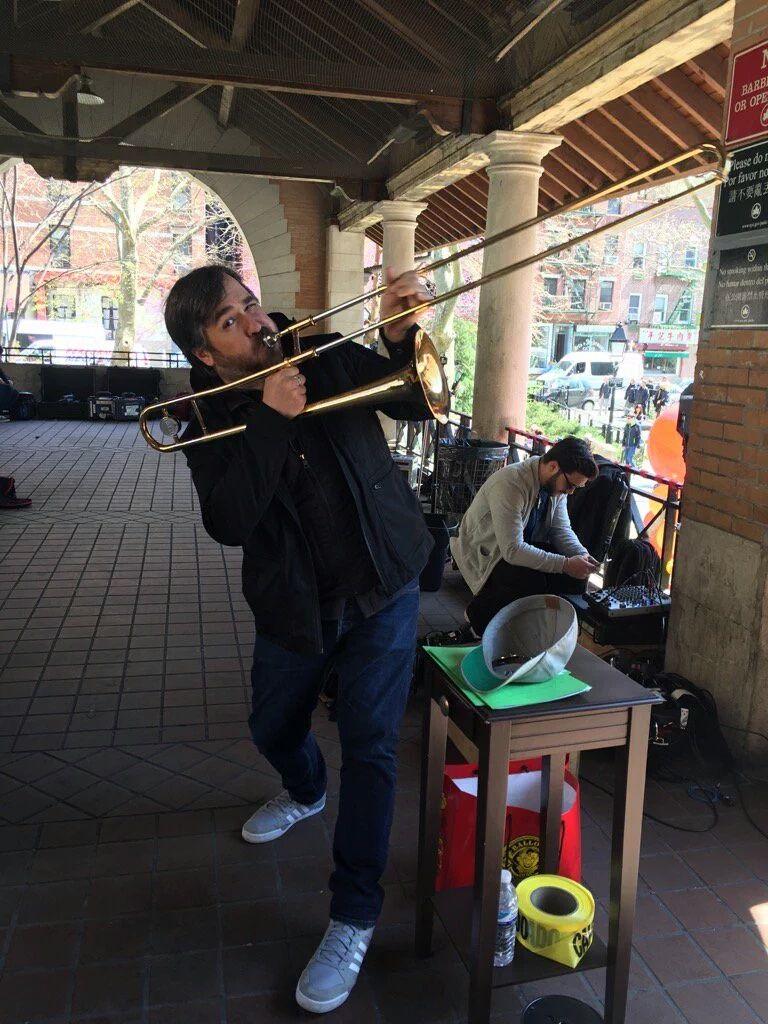 Q trombone Impractical jokers, Impractical jokers q