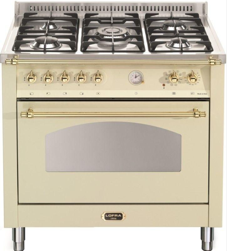 DOLCEVITA Range Cooker Single Backofen 90 cm breite, 9