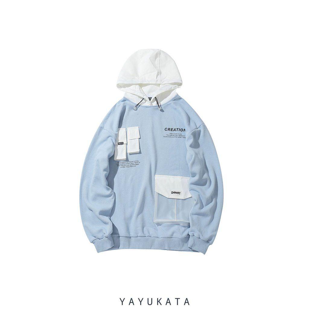 Mv2 Front Pocket Hoodie Japanese Street Wear Jackets Men Street Pocket Hoodie [ 1024 x 1024 Pixel ]