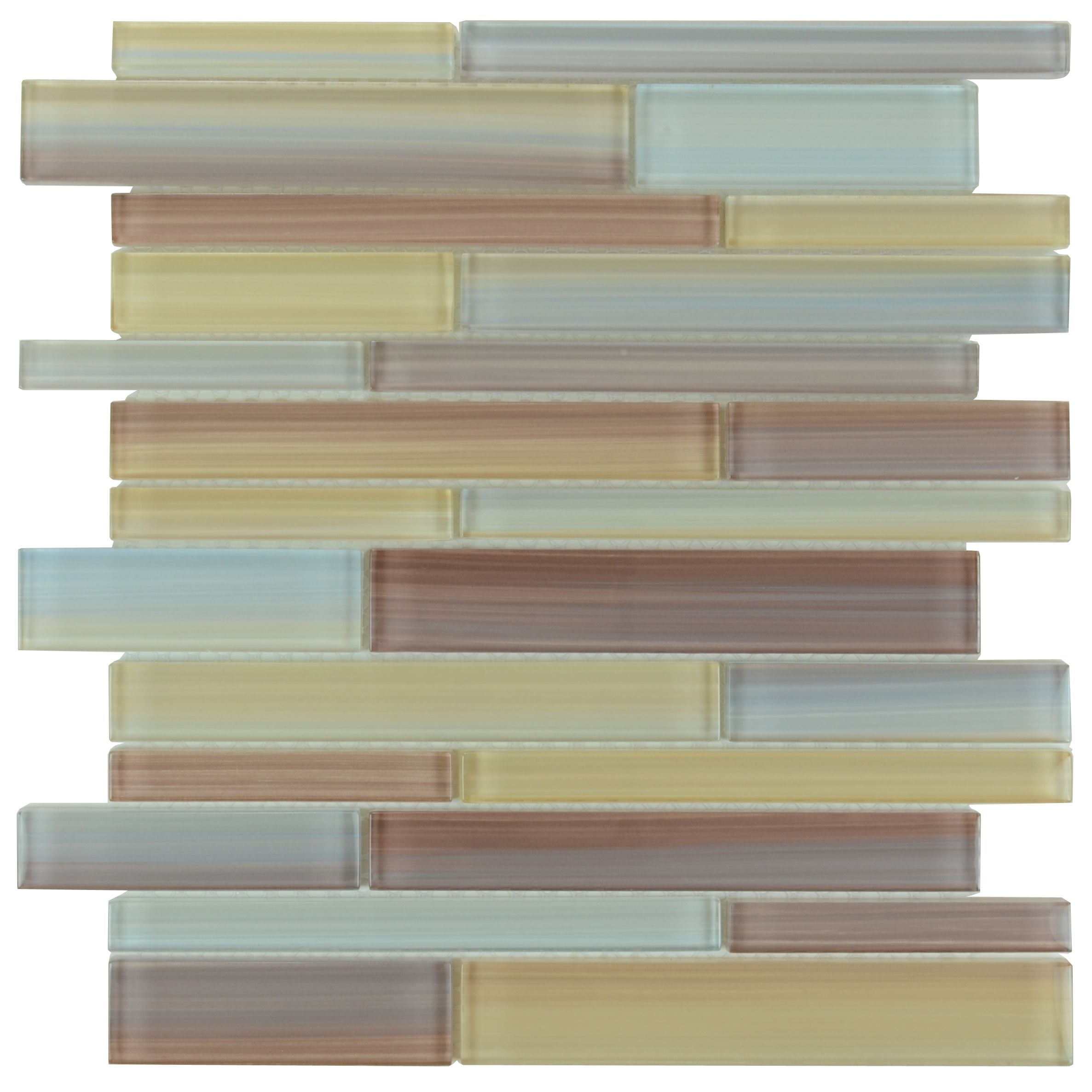- Hand Painted Glass Mosaic Tiles Crystal Cheap Interlocking Tile