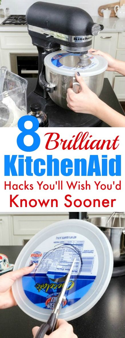 These 8 Brilliant KitchenAid hacks are THE BEST! I'm so glad I found these AWESOME tips and tricks! Now I can save time with my cooking and even during the holidays! Definitely pinning!