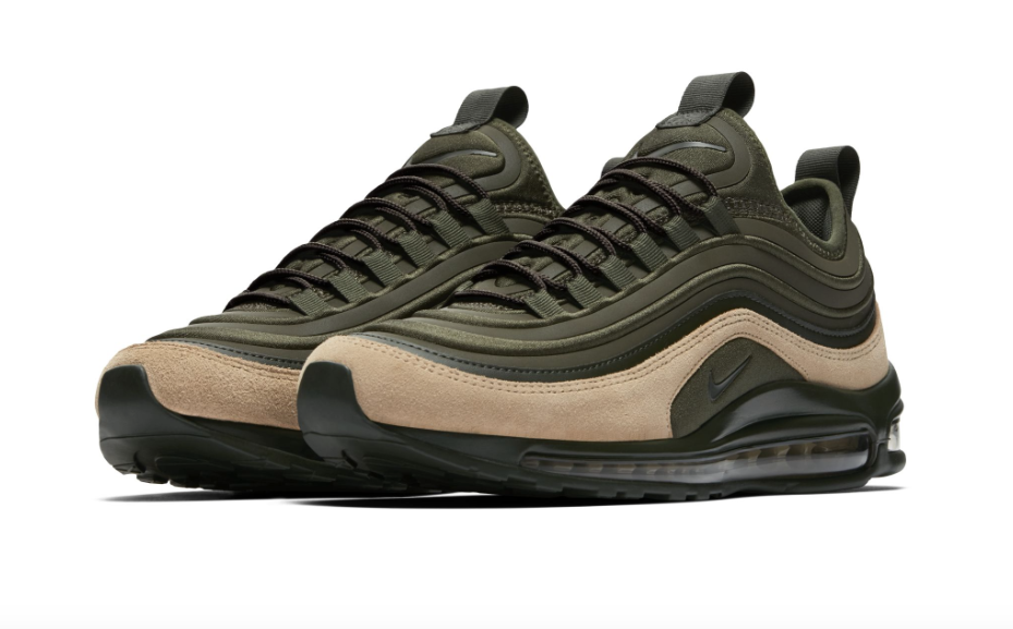 newest 4cb47 6766c Nike Air Max 97 Ultra Sequoia Green Tan Coming Soon