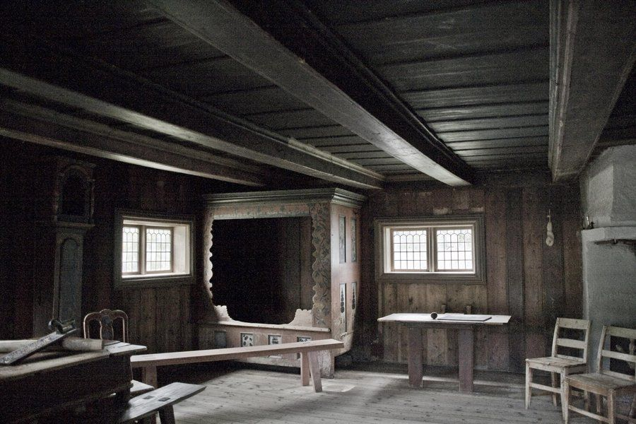 Beautiful Iinside Old Mansionspictures | Norway   Inside Old House By Eldharjar On  DeviantART