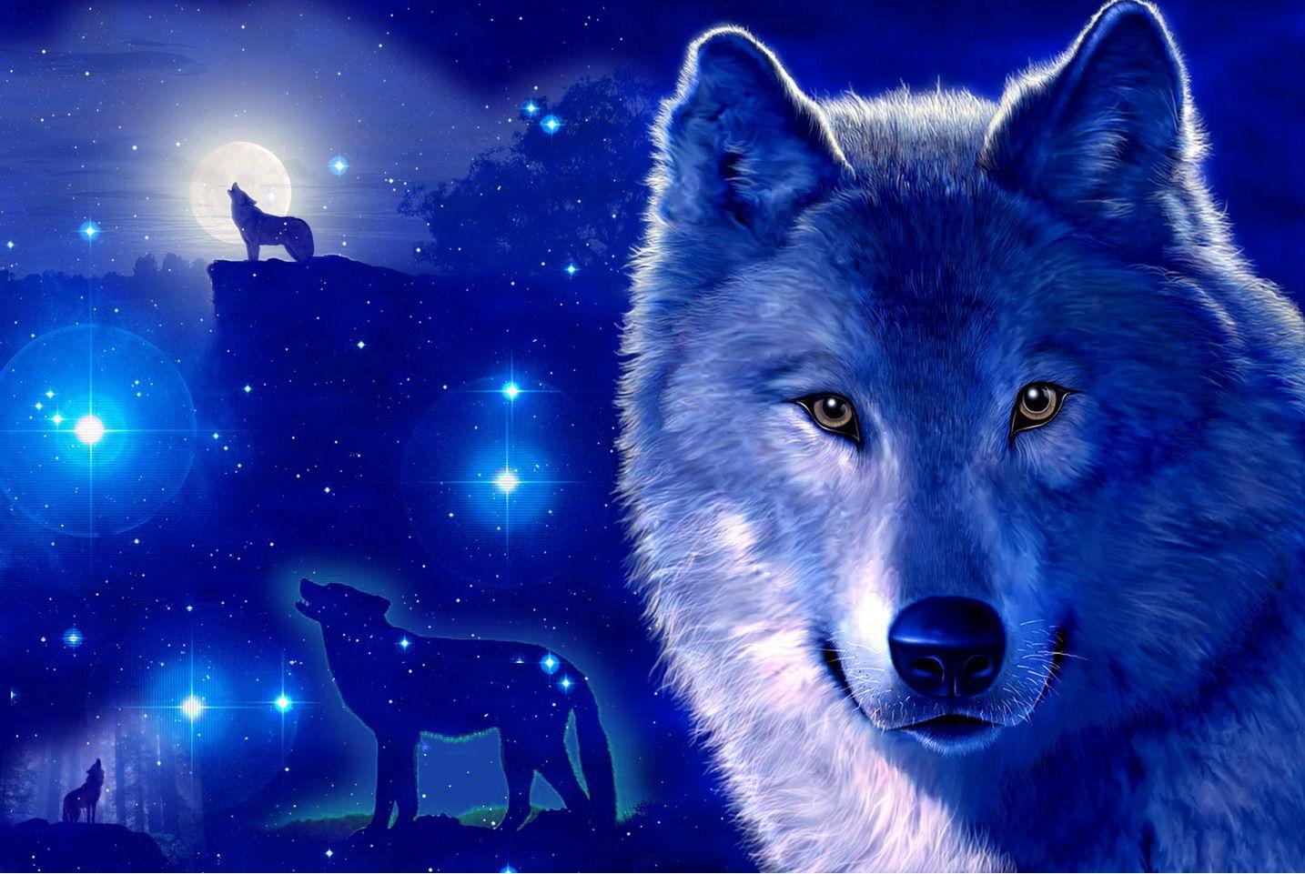 Картинки волки красивые на телефон