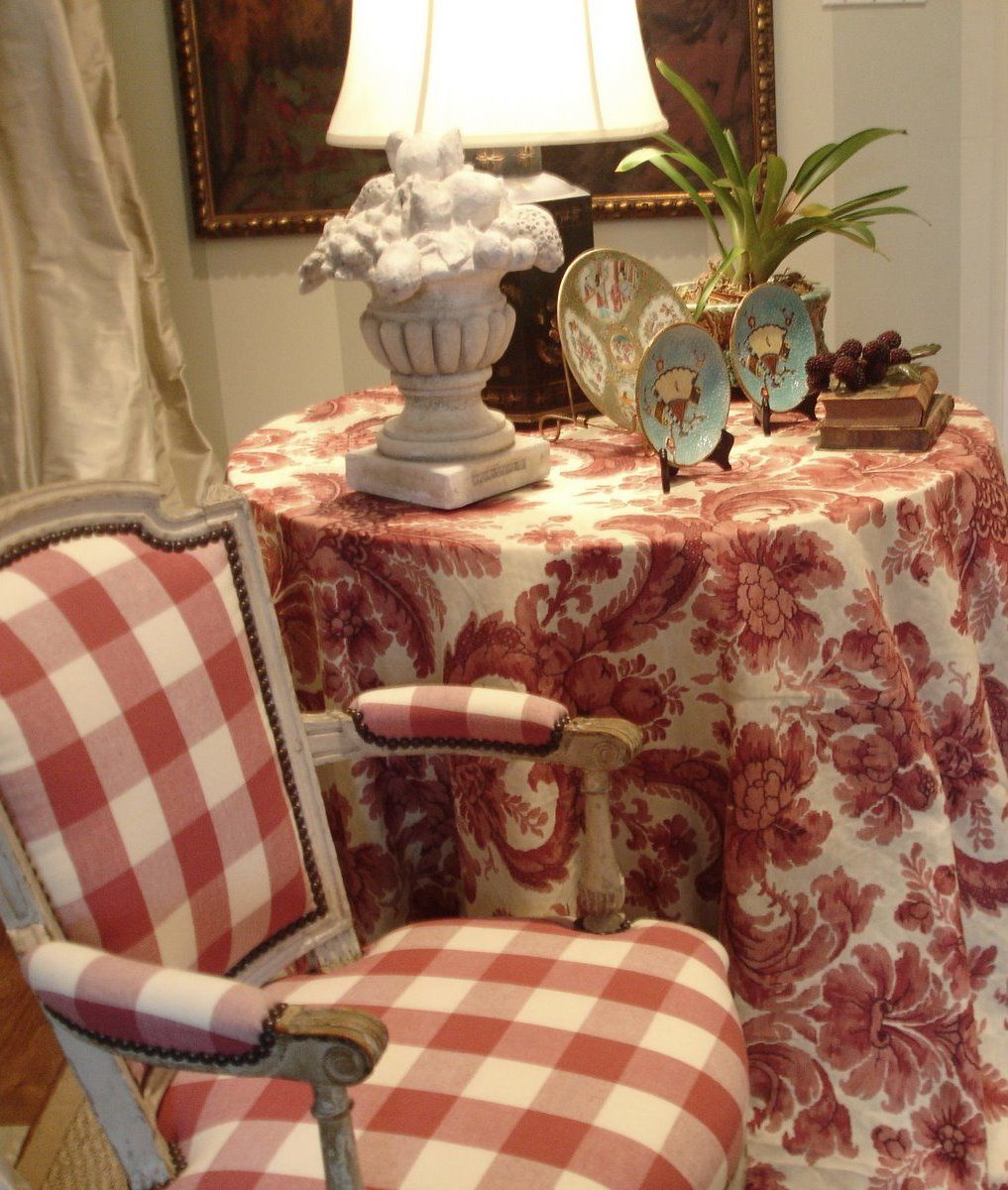 Charles Faudree S Country Cabin: Charles Faudree.....THE SKIRTED ROUNDTABLE