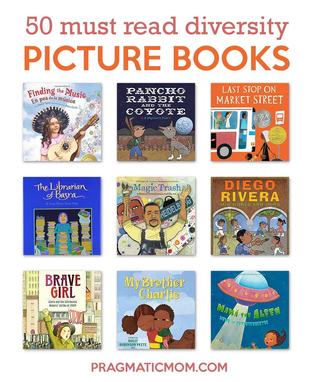 50 Must Read Diversity Picture Books Picture Book Easy Chapter Books Diverse Books Read children picture books online for
