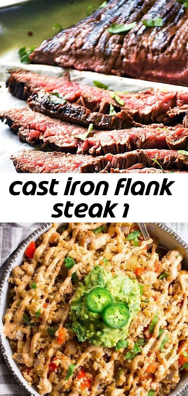Cast iron flank steak 1 #recipesforflanksteak