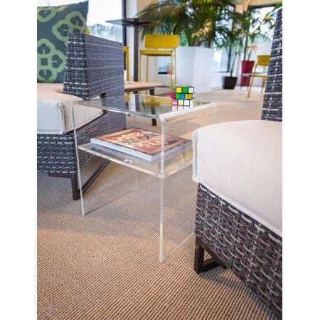 Tavolini Da Salotto In Plexiglass Prezzi.Tavolino Da Salotto Moderno In Plexiglass Trasparente Prezzi Online
