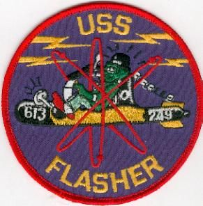 USS Flasher patch