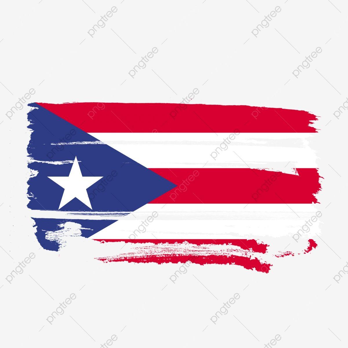 Bandera De Puerto Rico Transparente Con Pincel De Acuarela Puetro Rico Bandera De Puetro Rico Vector De Bandera De Puetro Rico Png Y Psd Para Descargar Grati Bandera De Puerto Rico