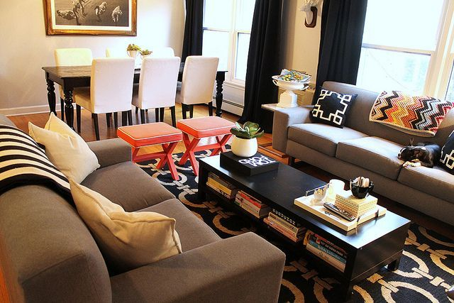 50+ creative living room dining room combo ideas (58 Living rooms