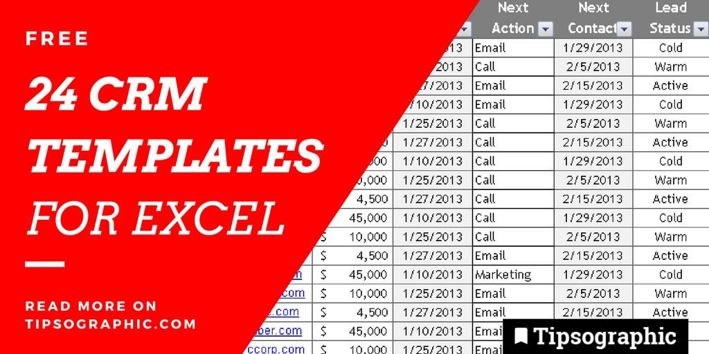 24 Epic CRM Templates for Excel, Free | Coaching | Agile software