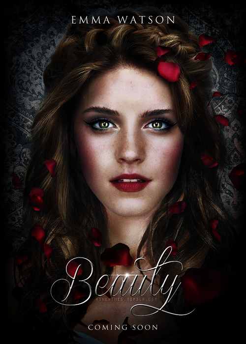 Beauty By Lsmyang Fake Poster For The New And Beast Movie