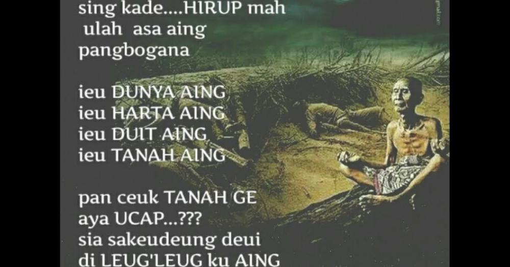 Kata Mutiara Bahasa Sunda Kahirupan Dan Artinya Quotemutiara Kata Kata Bijak Kata Kata Bijak