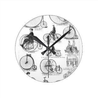 Penny Farthing Wall Clocks   Zazzle.co.uk