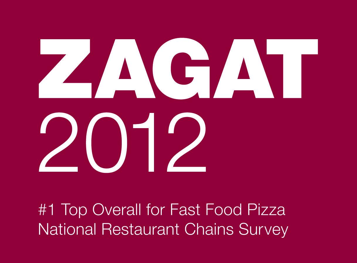 Zagat Award Number 1 Pizza Chain Bka Nspo Pizza Pizza