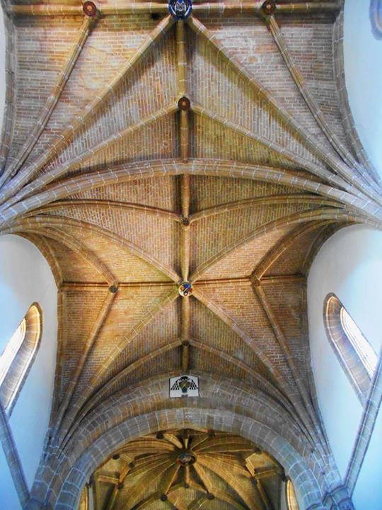 Bóveda de la nave  de la Iglesia del Convento de  Nuestra Señora de las Huertos