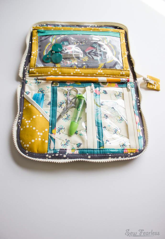 Leather Interchangeable Knitting Needle Case | Knitting ...