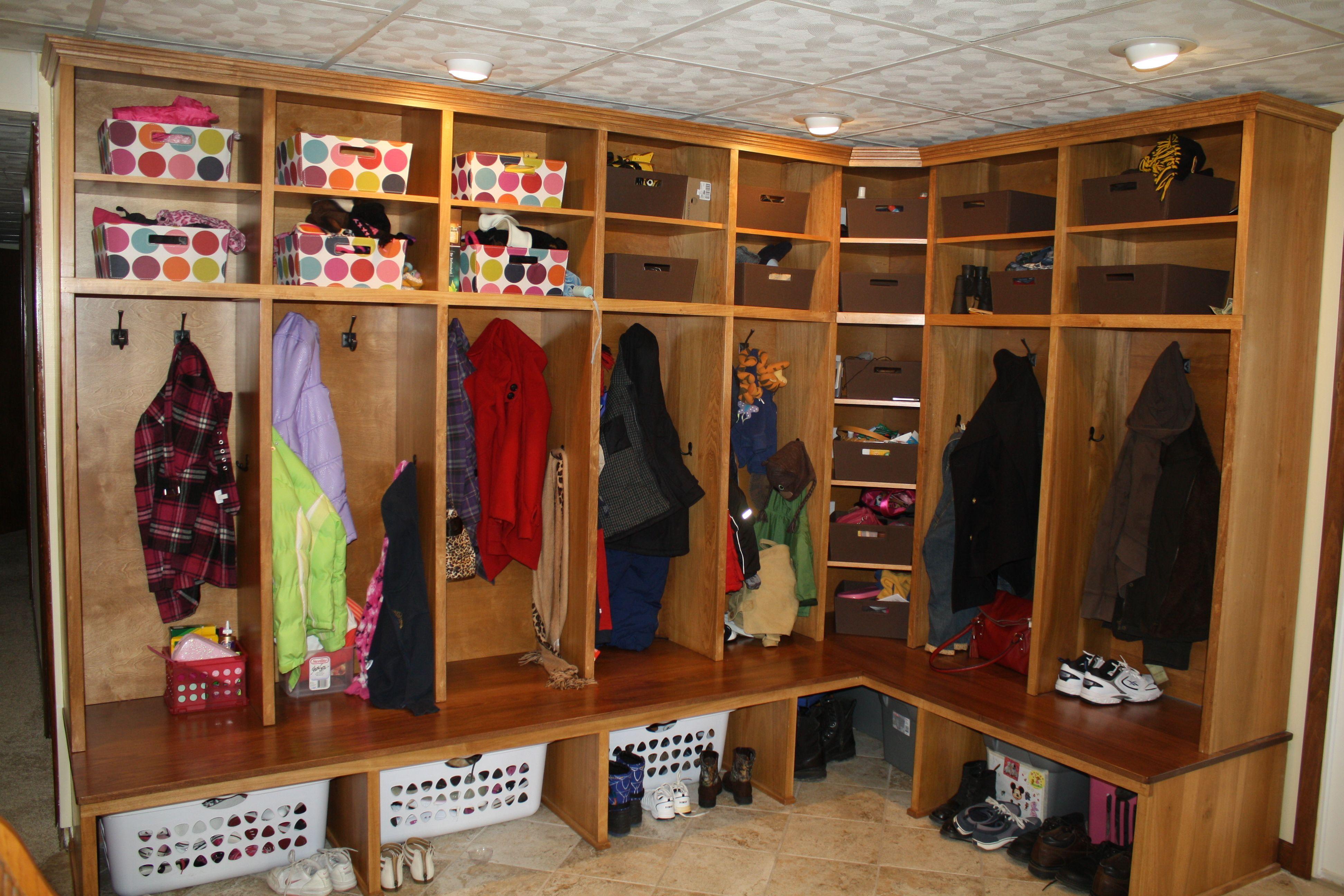 Corner Lockers Mud Room Storage Corner Storage Mudroom Lockers