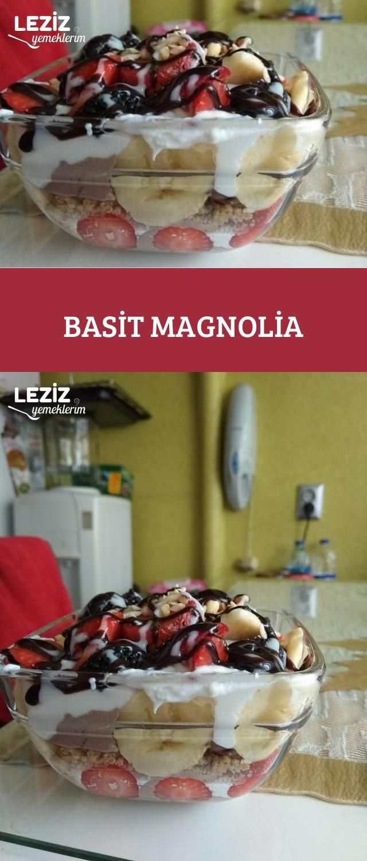 Kahveli Karamelli Muzlu Magnolia